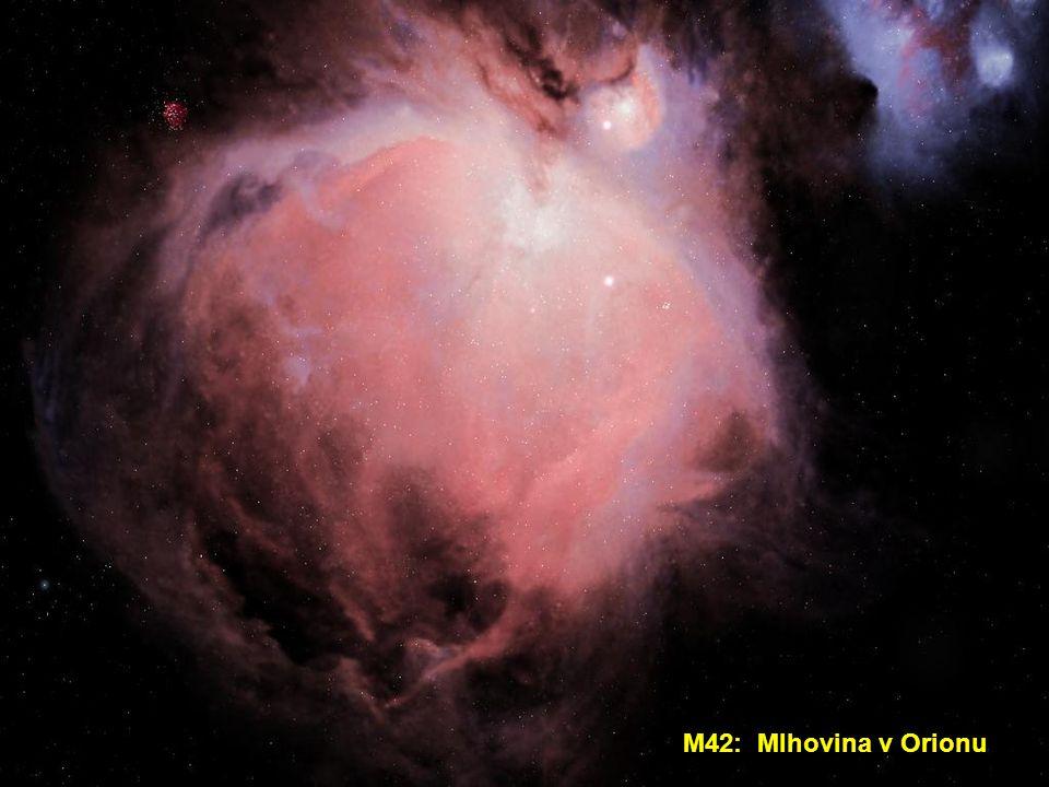 M42: Mlhovina v Orionu