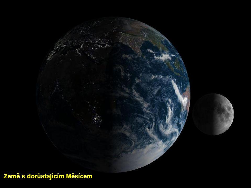 Země s dorůstajícím Měsícem