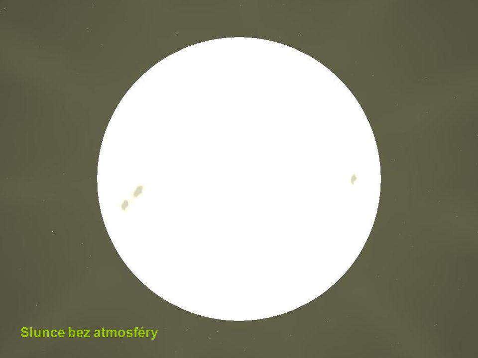 Slunce bez atmosféry