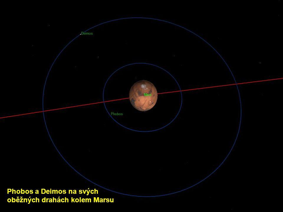 Phobos a Deimos na svých