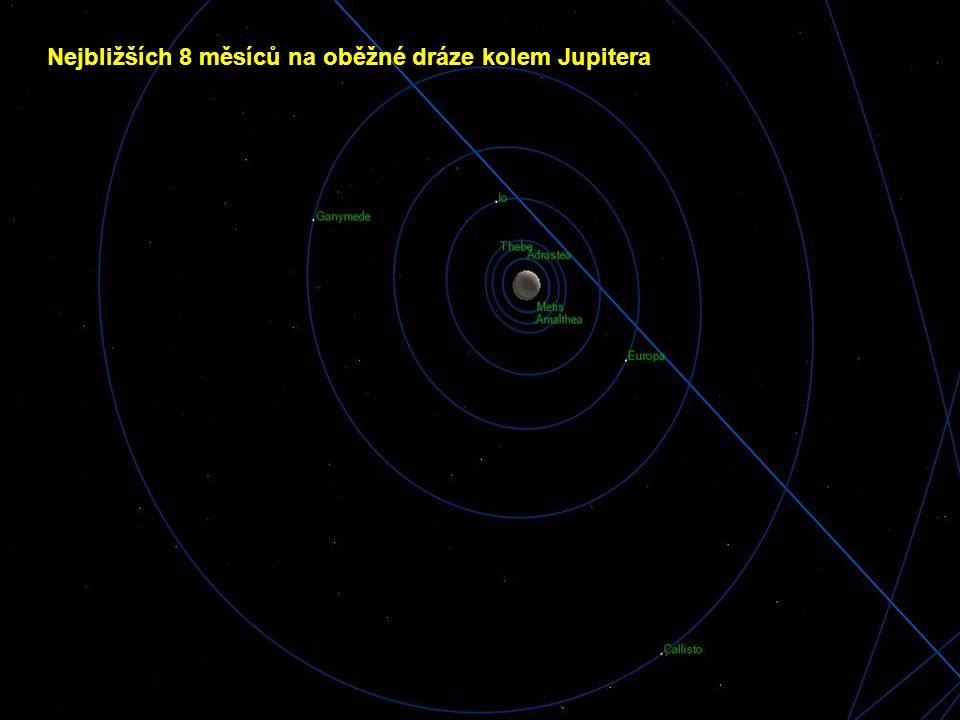 Nejbližších 8 měsíců na oběžné dráze kolem Jupitera