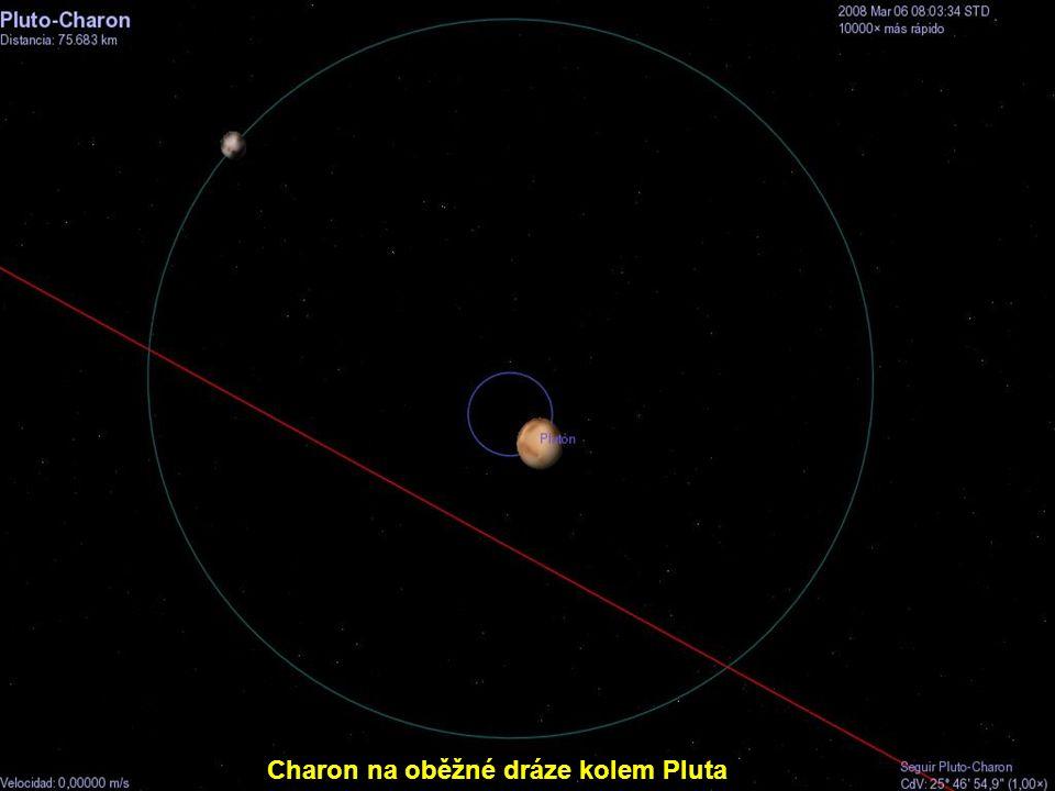 Charon na oběžné dráze kolem Pluta