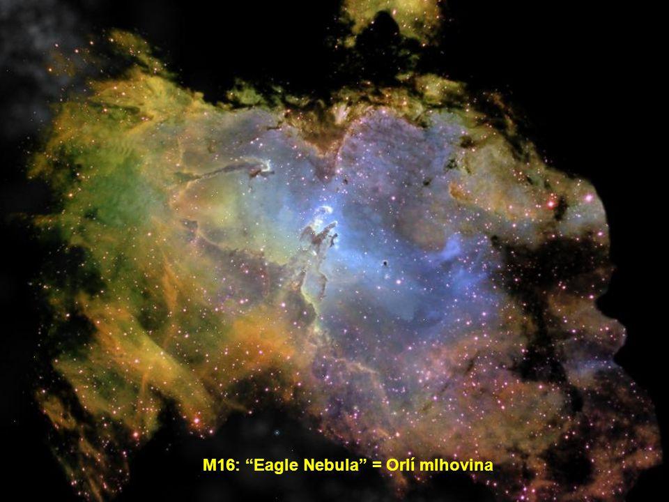 M16: Eagle Nebula = Orlí mlhovina