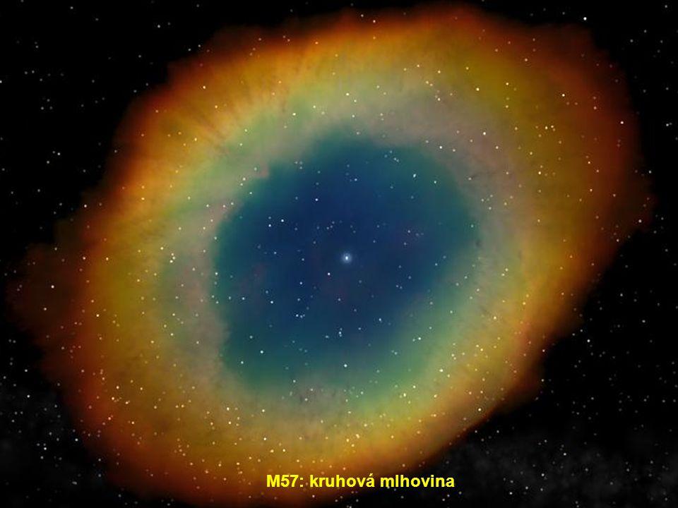 M57: kruhová mlhovina