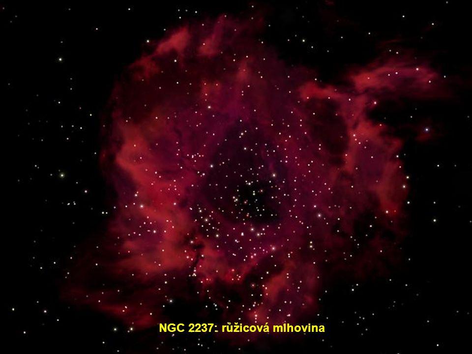 NGC 2237: růžicová mlhovina