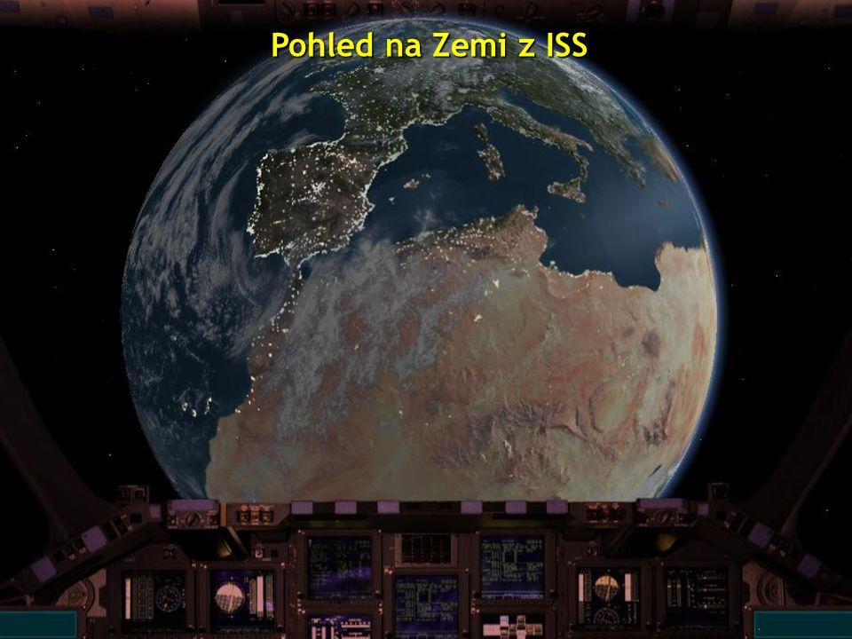 Pohled na Zemi z ISS