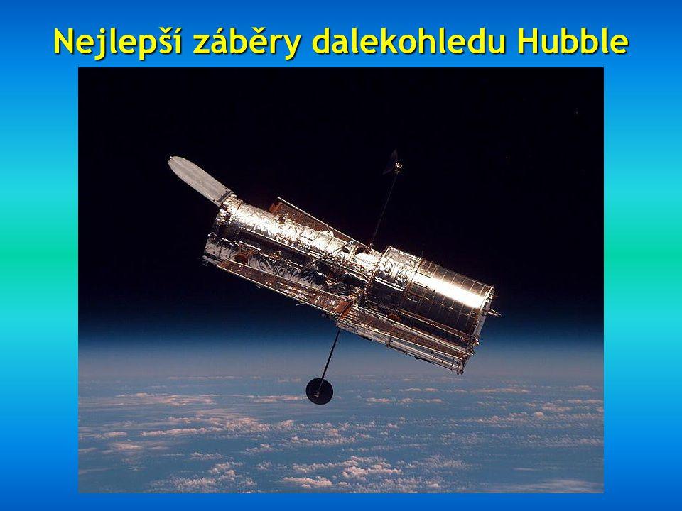 Nejlepší záběry dalekohledu Hubble