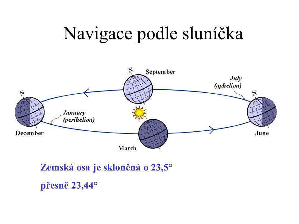 Navigace podle sluníčka