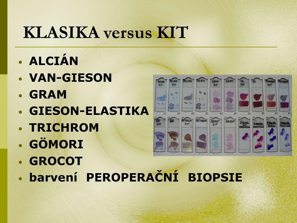 KLASIKA versus KIT ALCIÁN VAN-GIESON GRAM GIESON-ELASTIKA TRICHROM