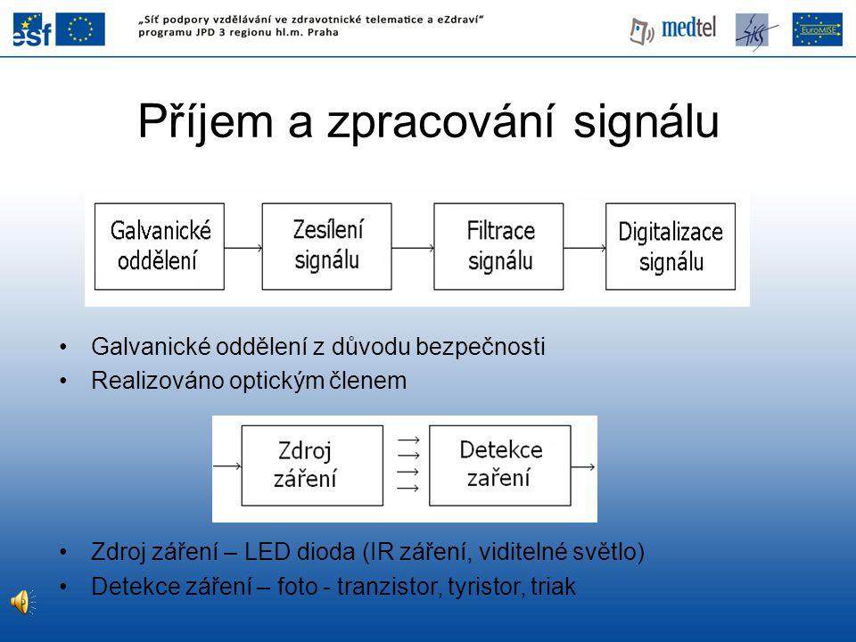 Příjem a zpracování signálu