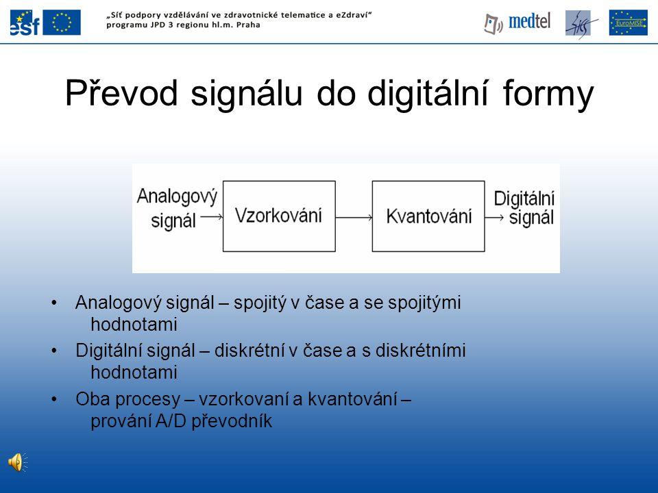 Převod signálu do digitální formy