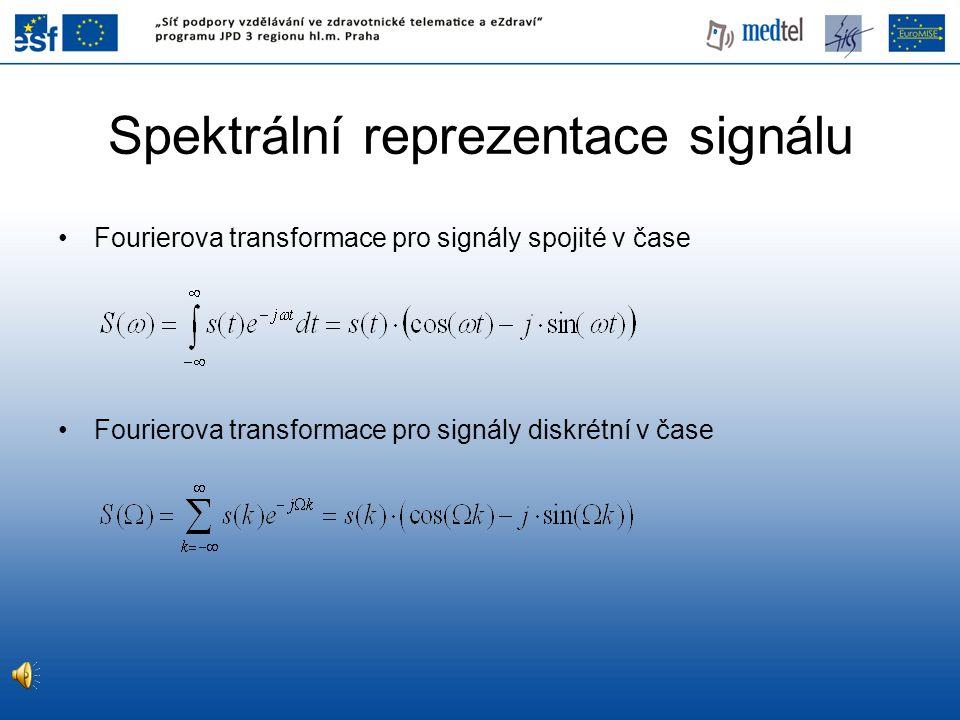Spektrální reprezentace signálu