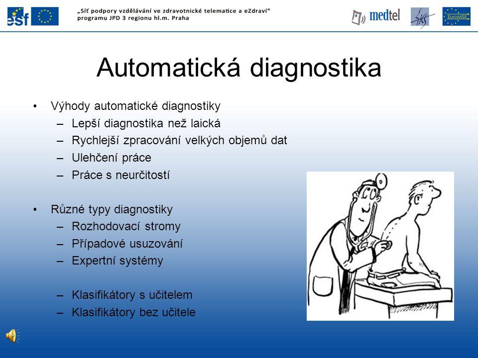 Automatická diagnostika