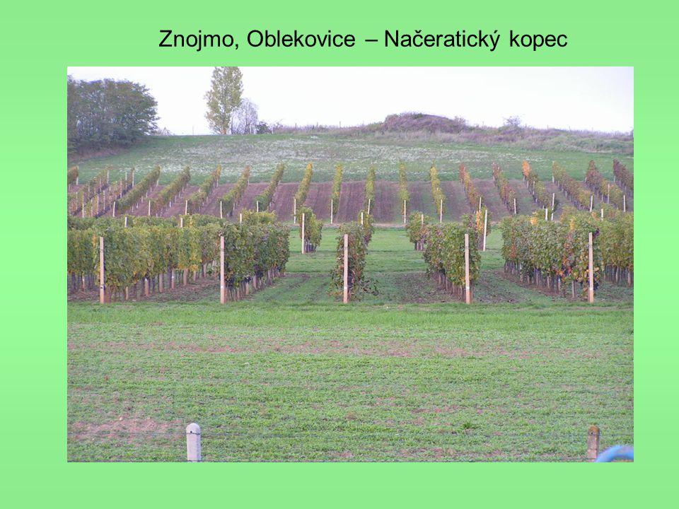 Znojmo, Oblekovice – Načeratický kopec