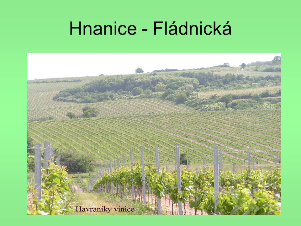 Hnanice - Fládnická