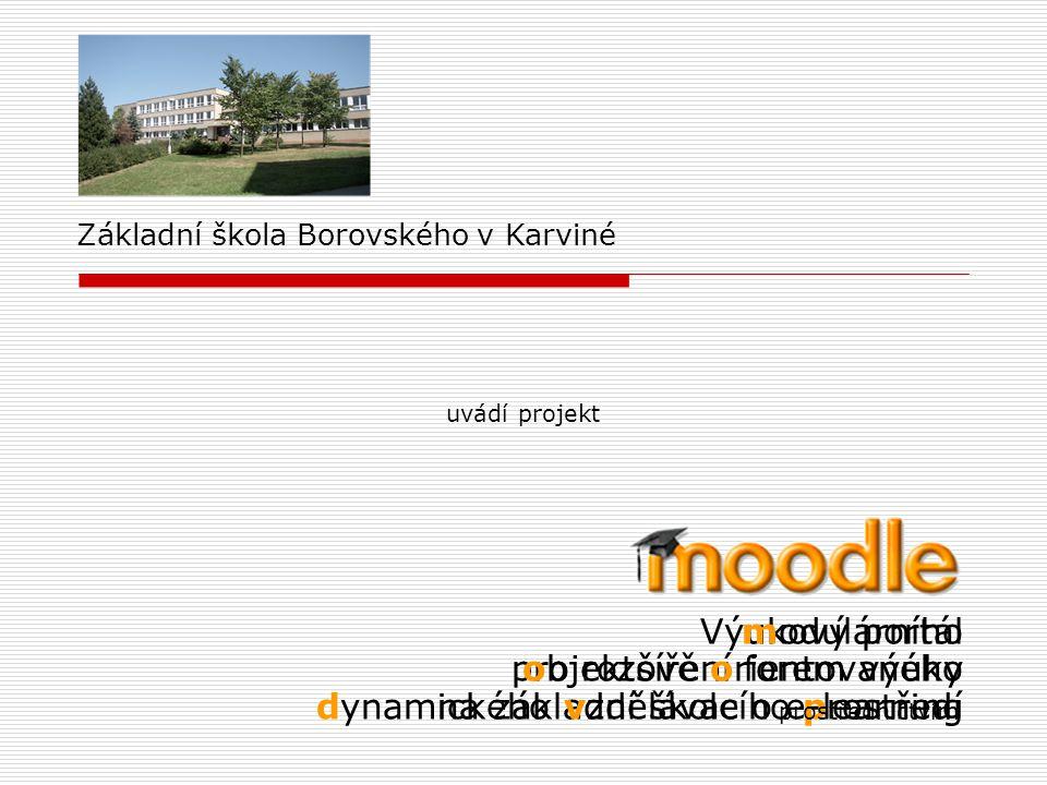 modulárního objektově orientovaného dynamického vzdělávacího prostředí