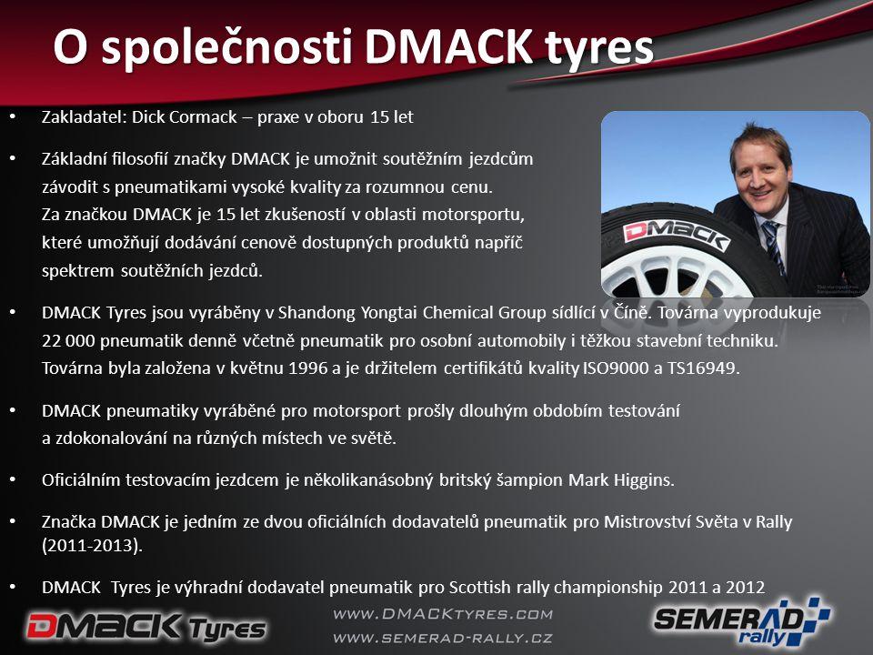 O společnosti DMACK tyres