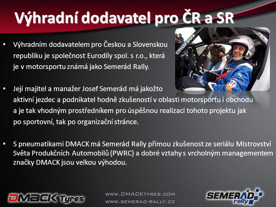 Výhradní dodavatel pro ČR a SR
