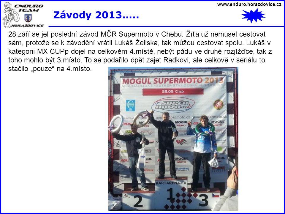 www.enduro.horazdovice.cz Závody 2013…..