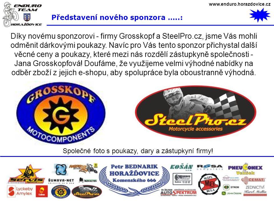 www.enduro.horazdovice.cz Představení nového sponzora …..: