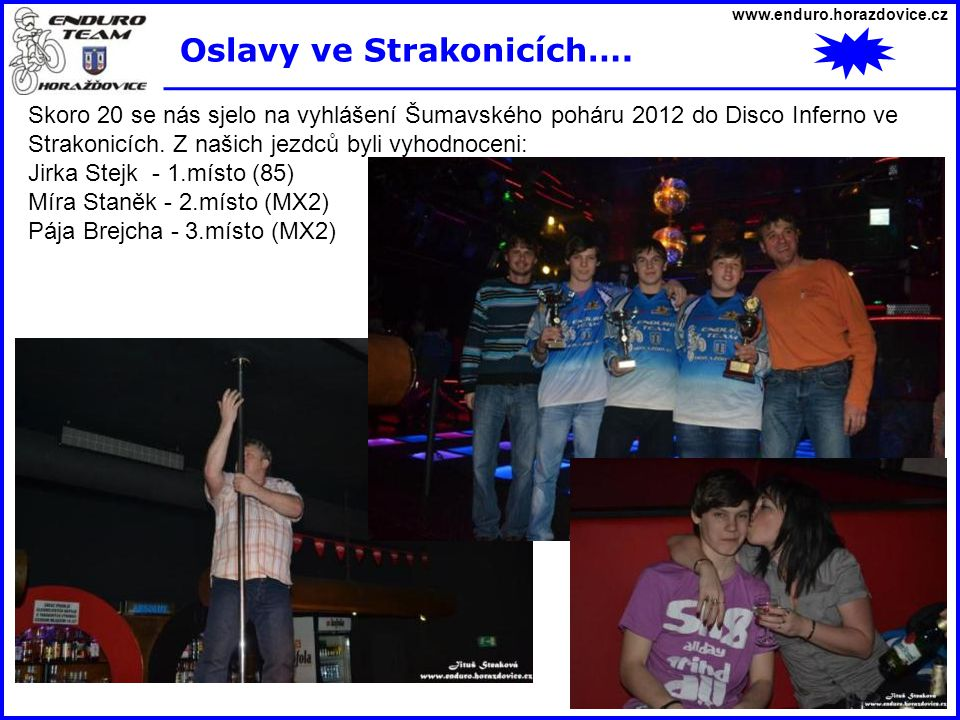 Oslavy ve Strakonicích….