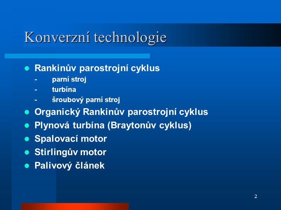 Konverzní technologie