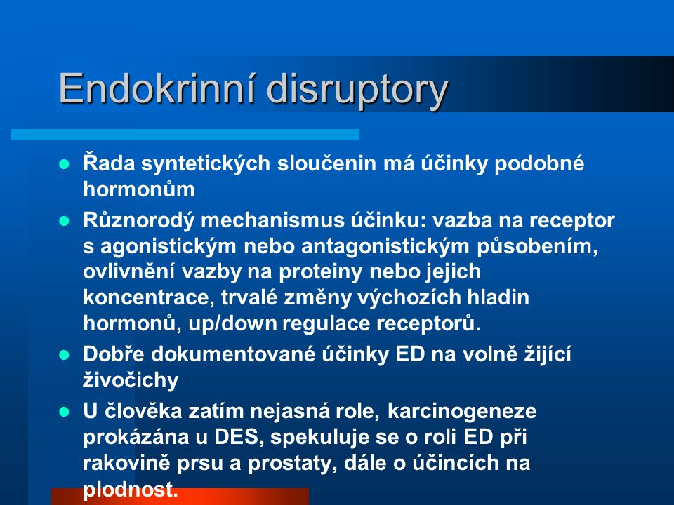 Endokrinní disruptory