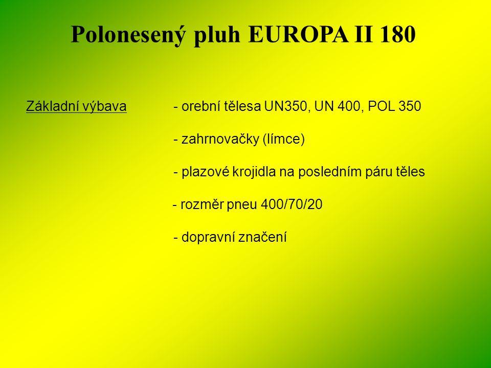 Polonesený pluh EUROPA II 180
