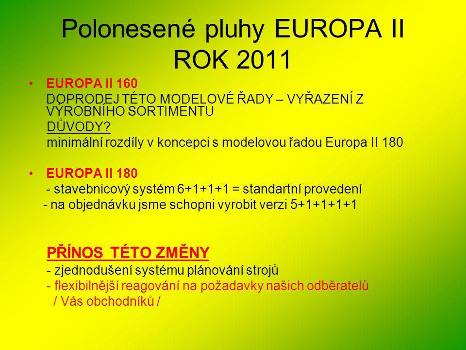 Polonesené pluhy EUROPA II ROK 2011