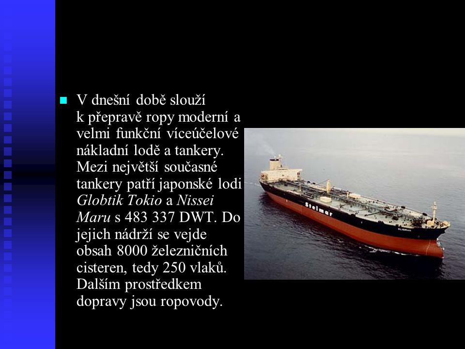 Doprava ropy