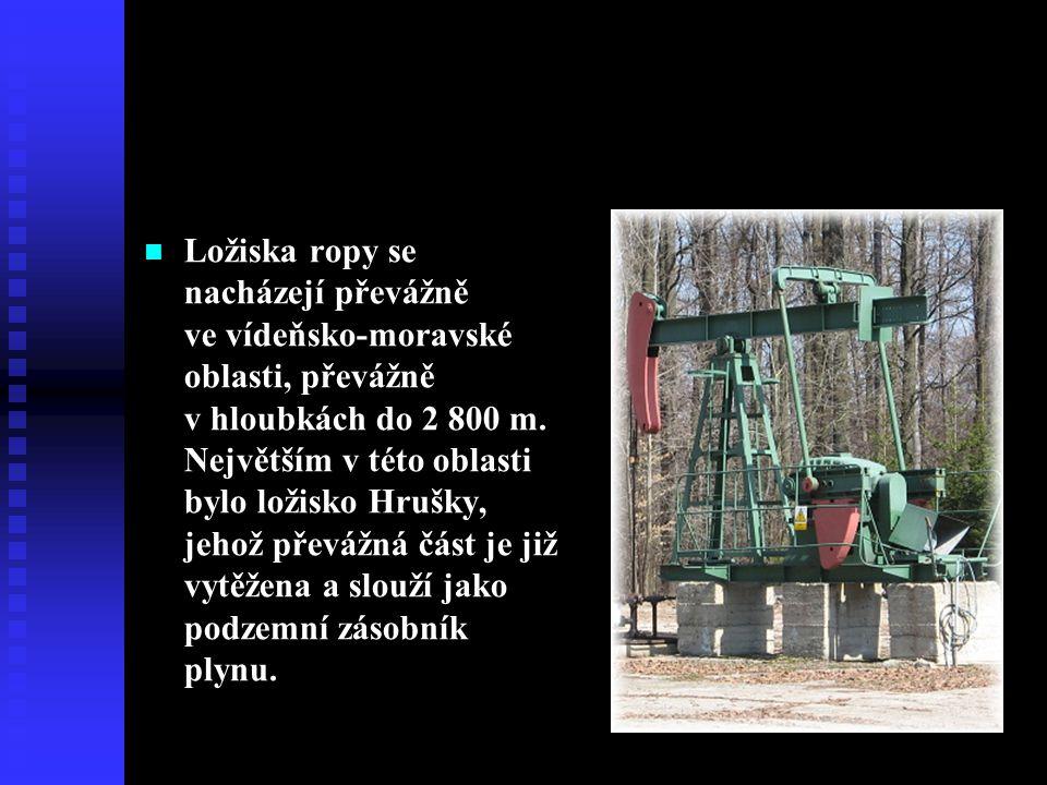 Ropa v ČR