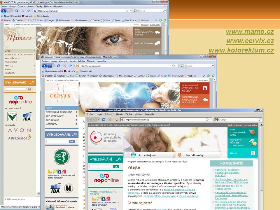 Webové portály projektů