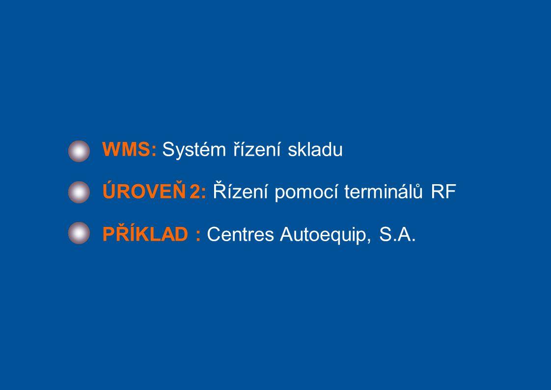 WMS: Systém řízení skladu