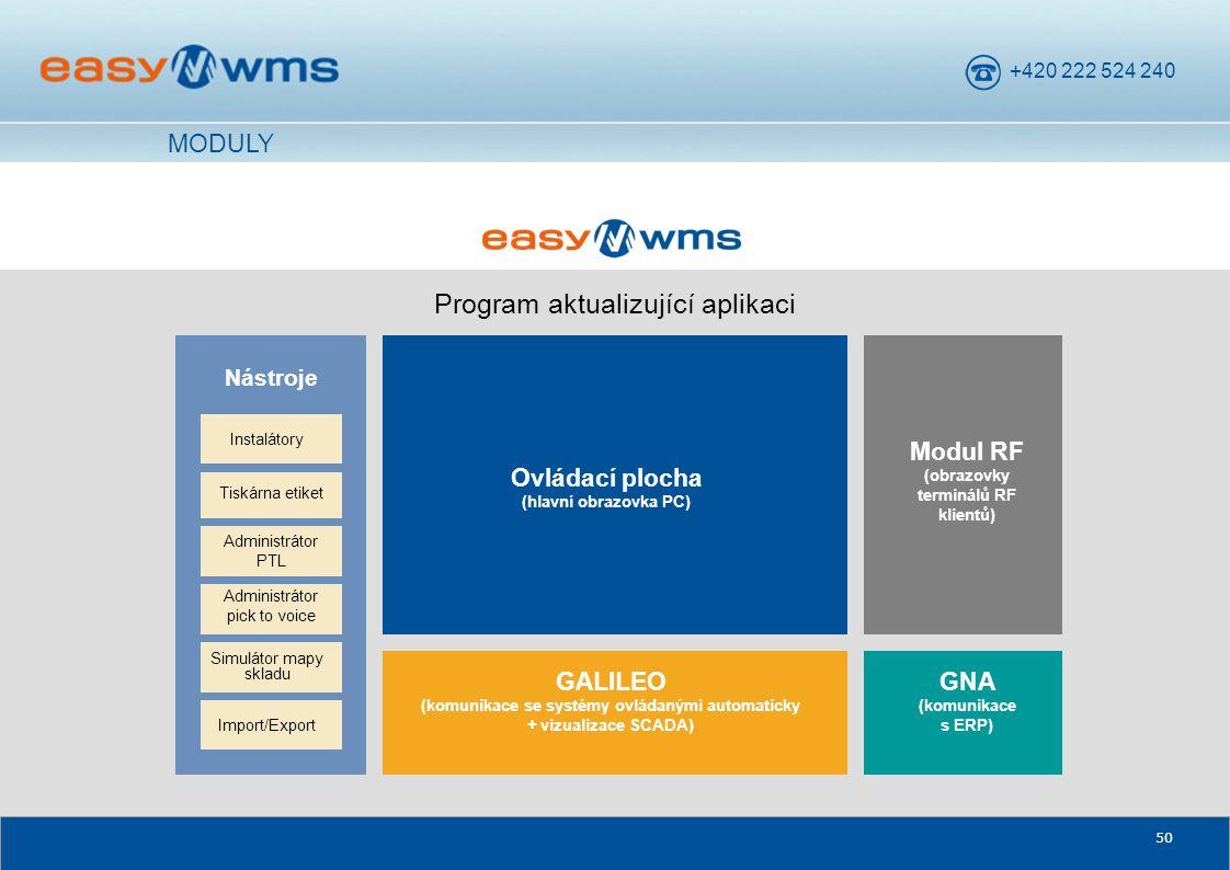 Program aktualizující aplikaci