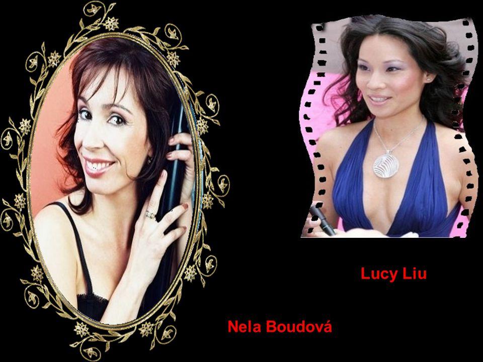 Lucy Liu Nela Boudová