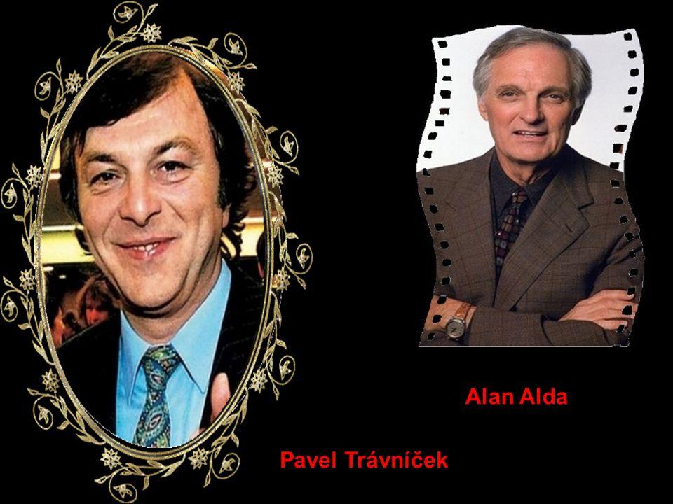 Alan Alda Pavel Trávníček
