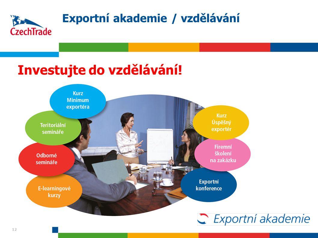 Exportní akademie / vzdělávání