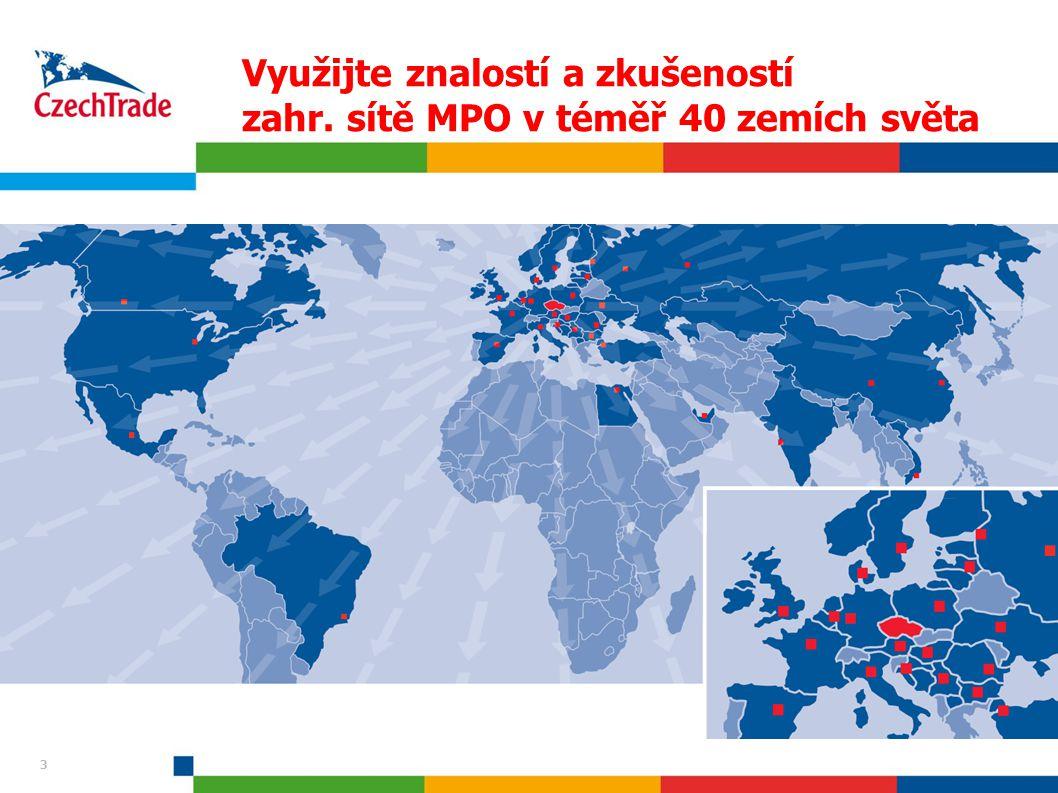 Využijte znalostí a zkušeností zahr. sítě MPO v téměř 40 zemích světa