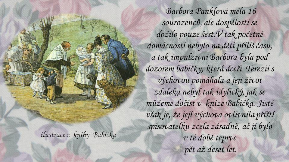 Barbora Panklová měla 16 sourozenců, ale dospělosti se