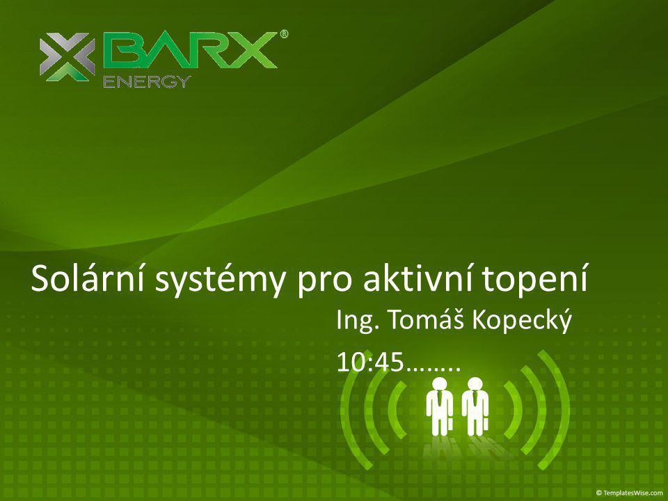 Solární systémy pro aktivní topení