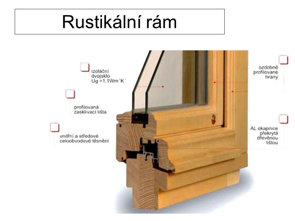 Rustikální rám