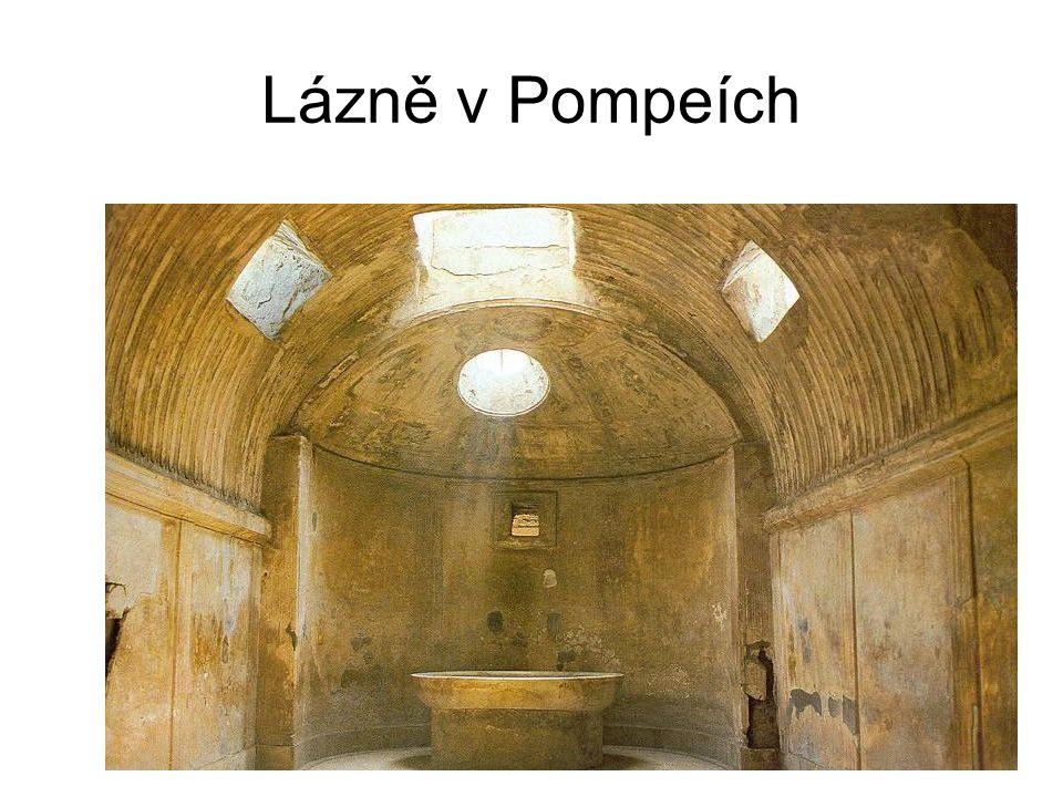 Lázně v Pompeích