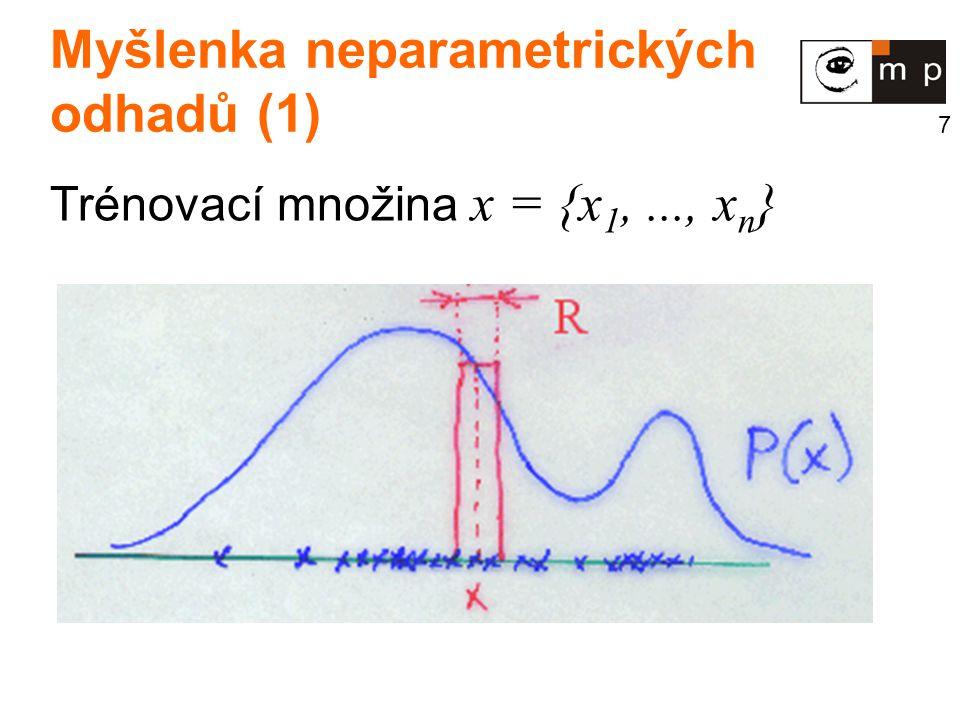 Myšlenka neparametrických odhadů (1)