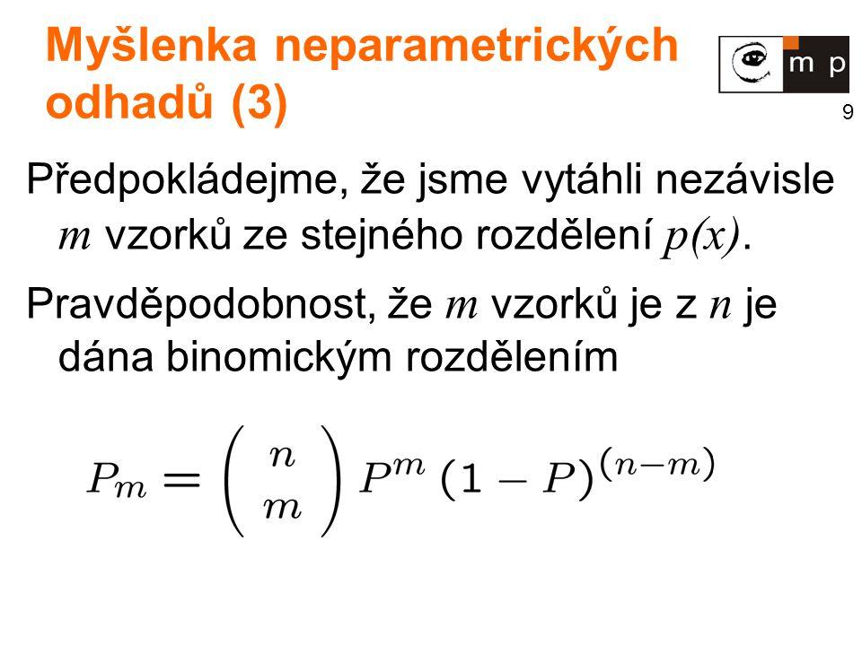 Myšlenka neparametrických odhadů (3)