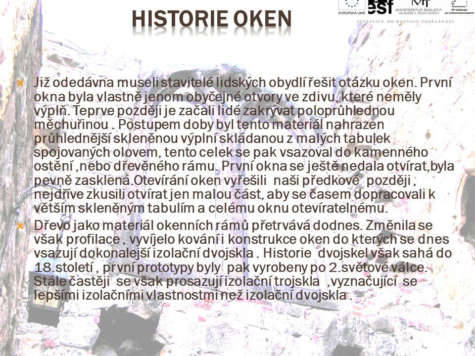 Historie oken