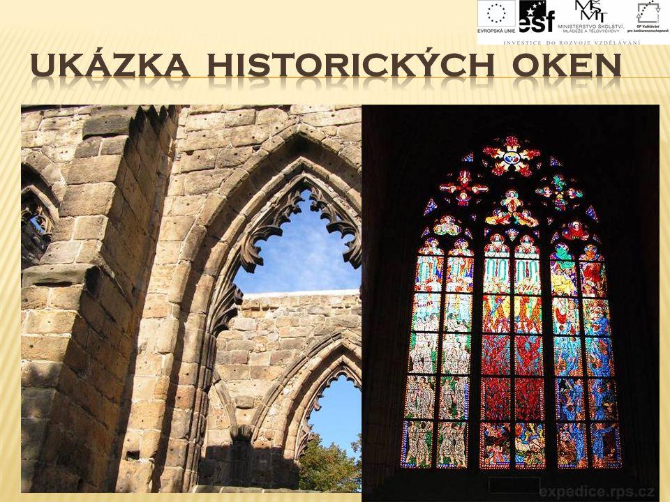 UKÁZKA historických OKEN