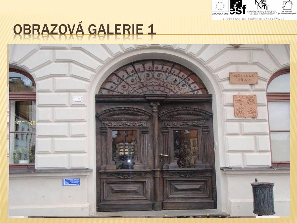 OBRAZOVÁ GALERIE 1