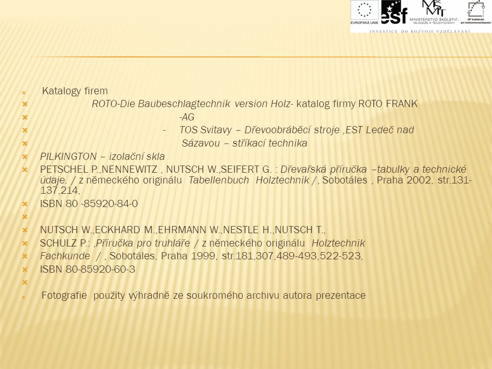 ROTO-Die Baubeschlagtechnik version Holz- katalog firmy ROTO FRANK -AG