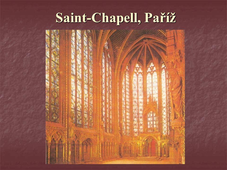 Saint-Chapell, Paříž