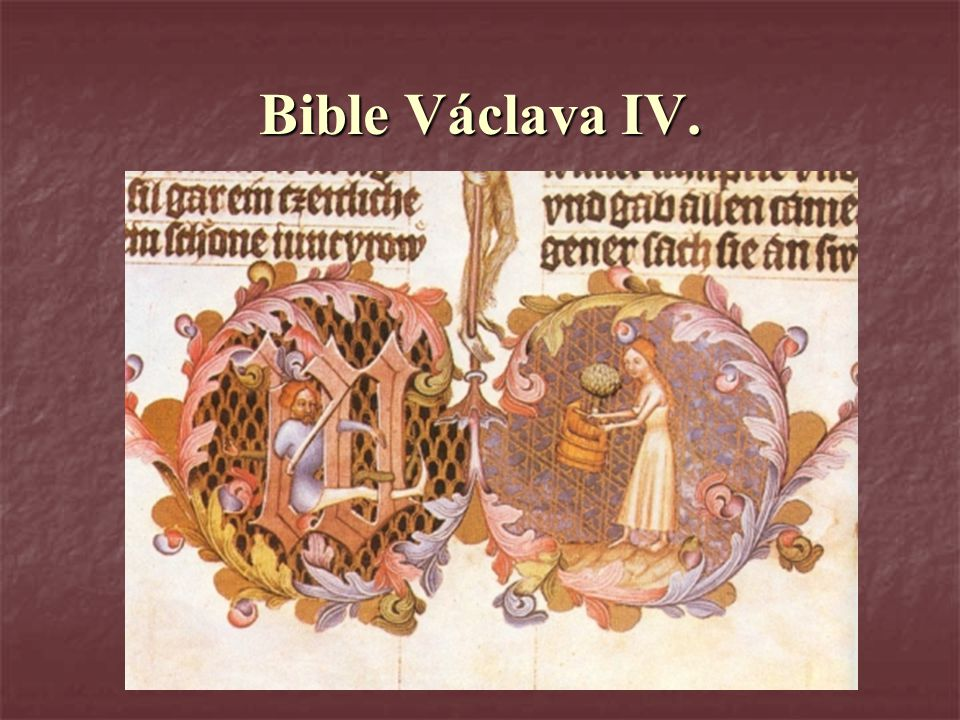 Bible Václava IV.